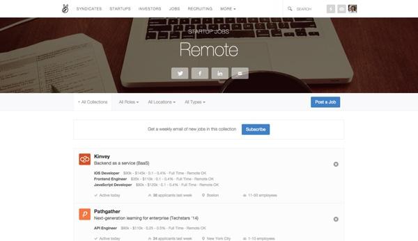 AngelList Remote Jobs