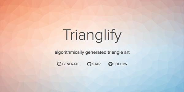 Trianglify