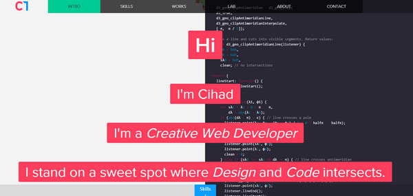 Ripped In Half Websites With 2 Column Layouts Designmodo
