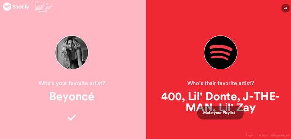 Spotify Valentines