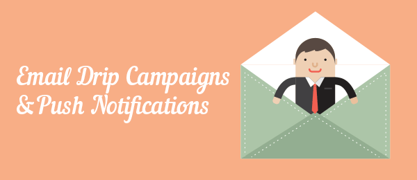 Emails and push notifications