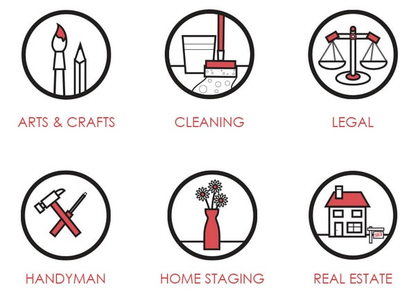 Small Business Club Icons by Andrew Ronaldson