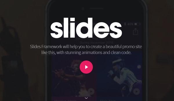 Slides Framework
