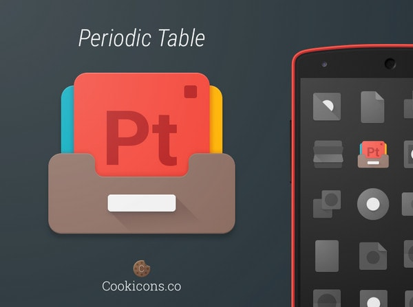 Periodic Table Product Icon by Michael Cook