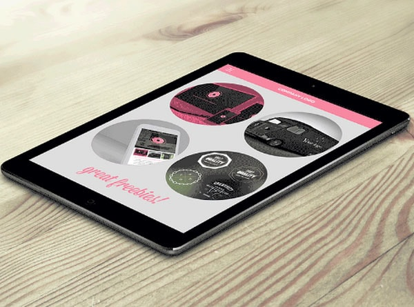 Free Ipad Page Scroll Down All Animated In Photoshop
