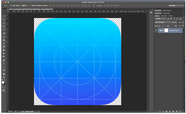How to Create a Sleek iOS App Icon in Photoshop