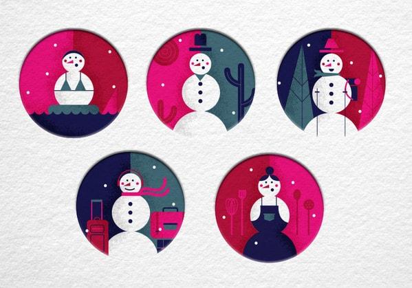 snowglobes by Bailey Sullivan