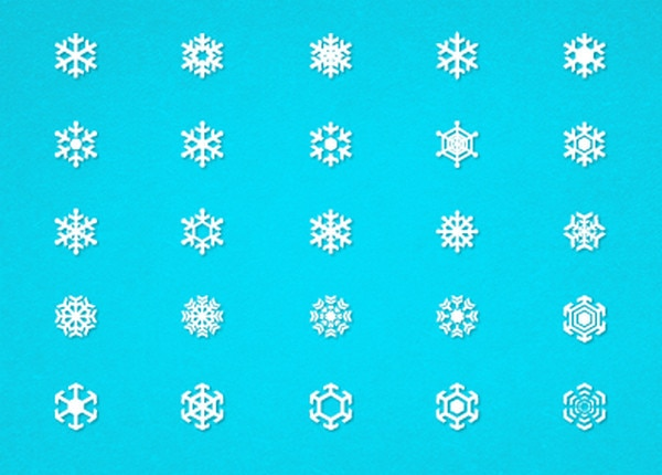 Free Snowflakes by Jake Dugard