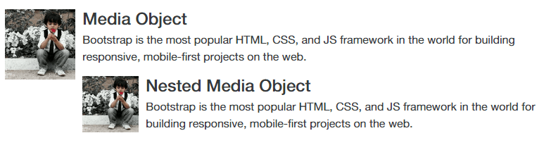 Nested Media Objects