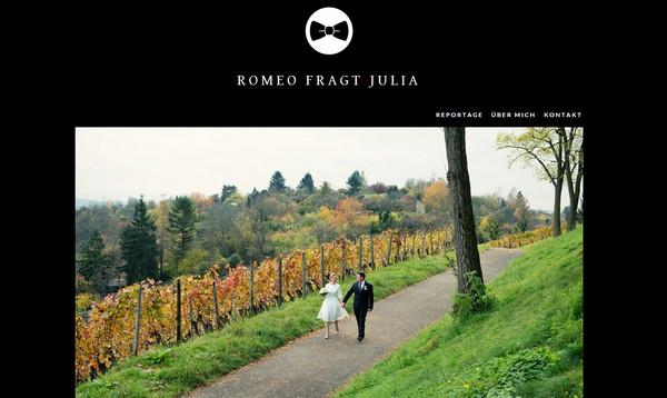 Romeo Fragt Julia