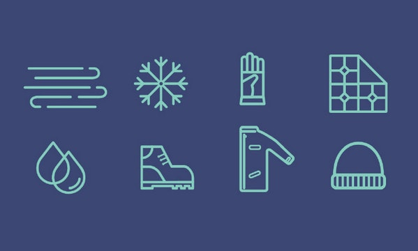 Winter Icons by Stacia Burtis