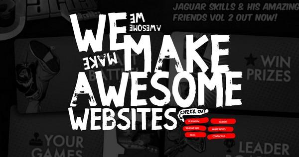 We make awesome