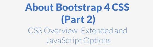 Bootstrap 4 CSS Tutorial (Part 2)