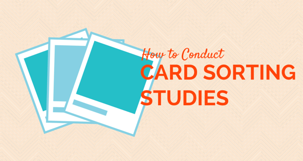 How to Conduct a Card Sorting Study?