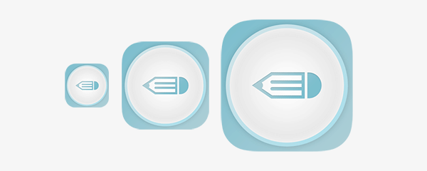 iOS App Icon in Photoshop