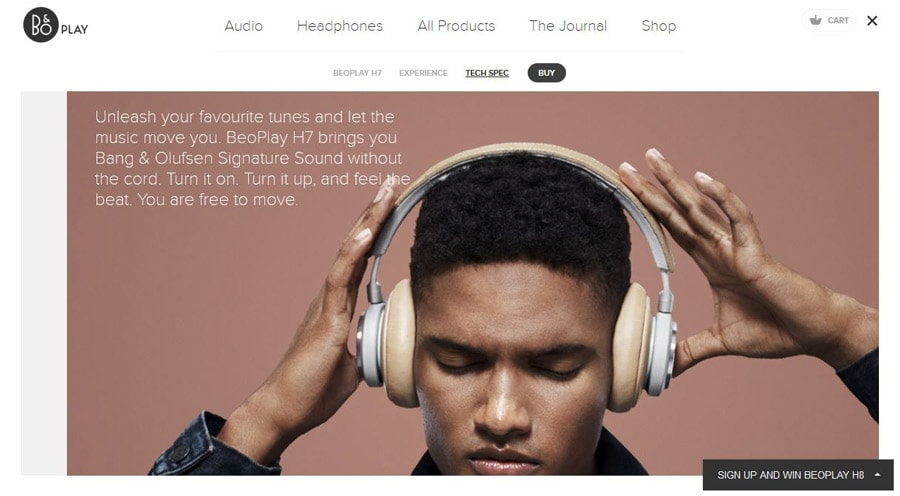 Web Design Trends for 2016  - beoplay - 11 Web Design Trends for 2016