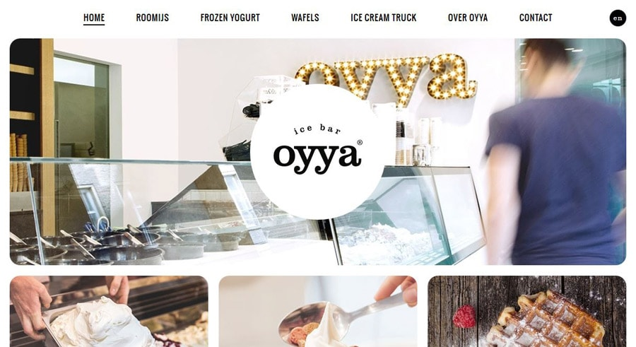 Oyya  - oyya - 11 Web Design Trends for 2016