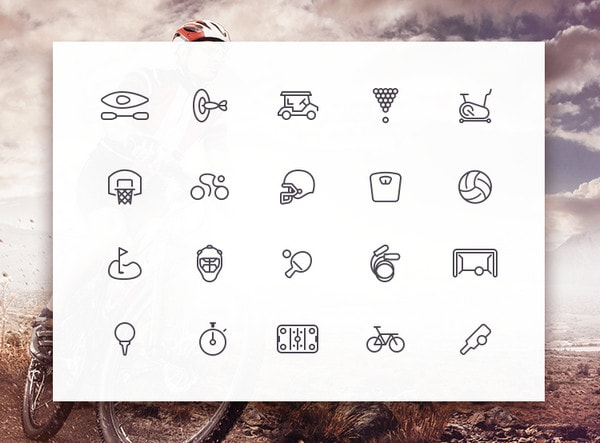 Sporties Icon Set by Creativedash