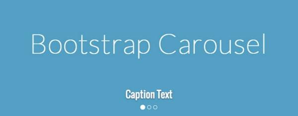 Bootstrap 3 Carousel