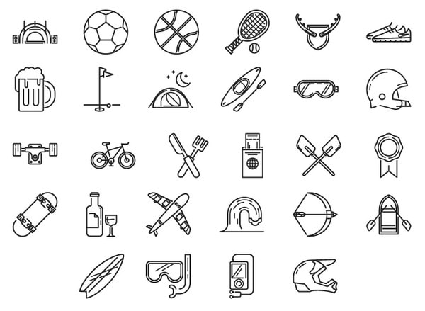 Activity Icons by Jason Smith