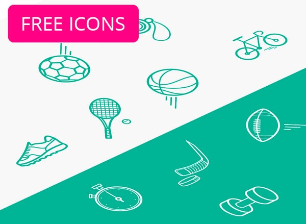 Sport icon pack by Polyarix