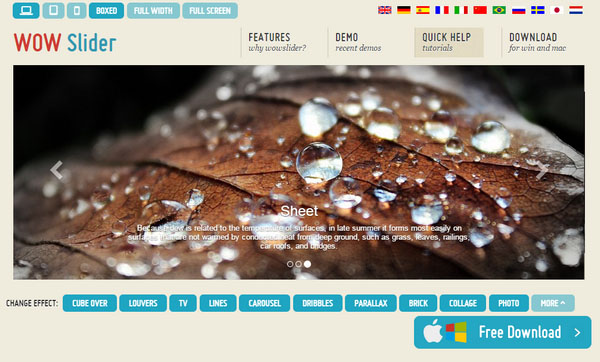 Free Bootstrap Image Sliders