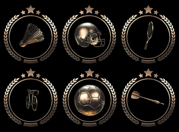 Sport Badges Animation by Webshocker