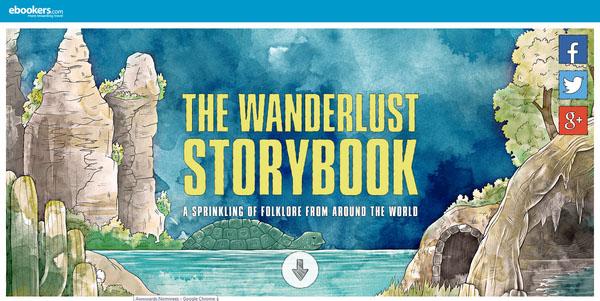 The Wanderlust Storybook