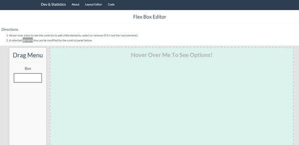 Flex Box Editor