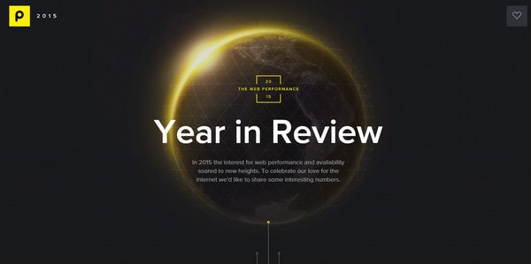 Year in Review by Pingdom