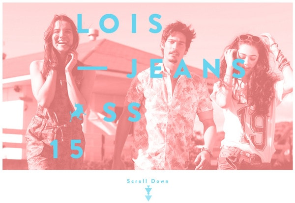 Campaign by Lois Jeans