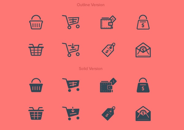 Various Purchase/Buy Icons by HevnGrafix Creative