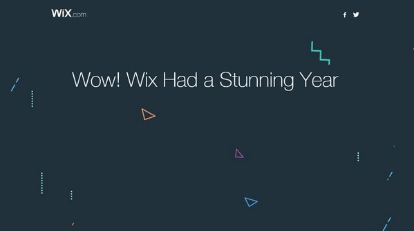 2015 by Wix