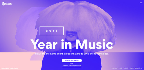 Year in Music by Spotify