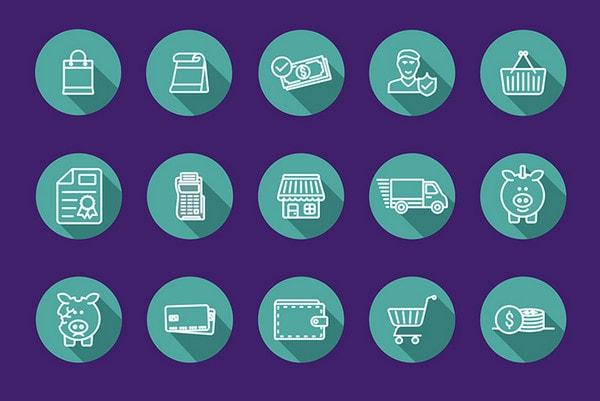 Icons Free Ecommerce