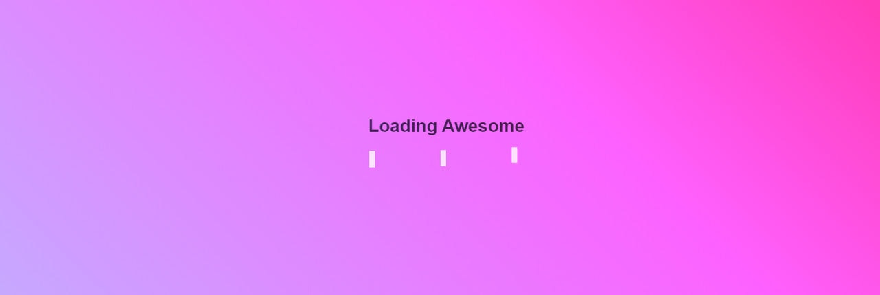 Gradient-based CSS3 Loading Animations