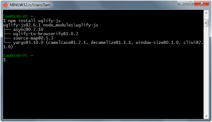 npm install local