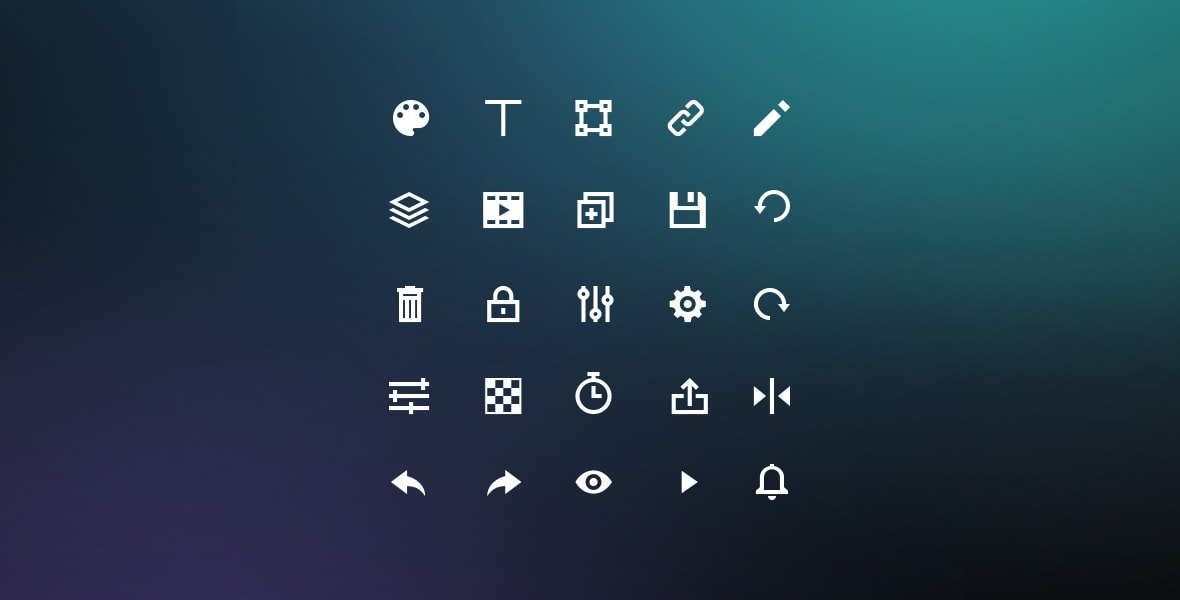Bannersnack - Custom Icon Set