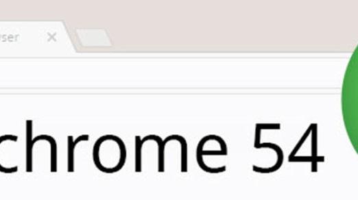 Google Releases Chrome 54
