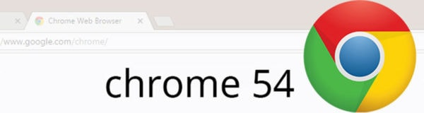 Google Releases Chrome 54