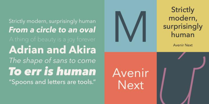 Avenir Next Pro