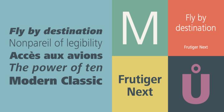 Frutiger Next