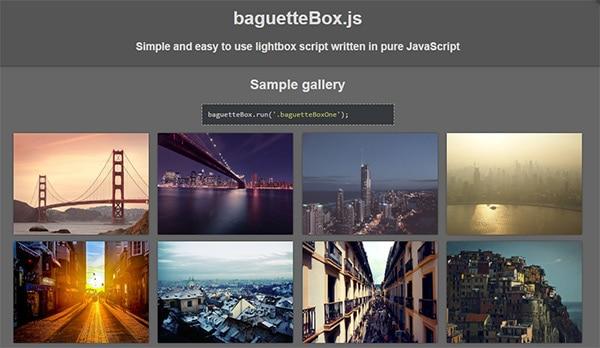 baguetteBox.js