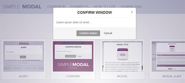 Design Trends For Modal Windows On The Web - Designmodo