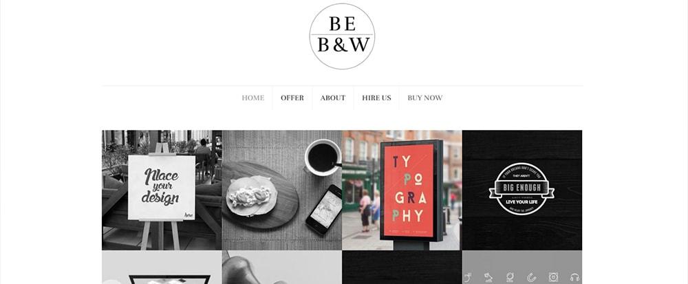Be B&W