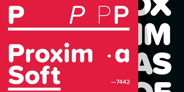 Proxima Font Showcase