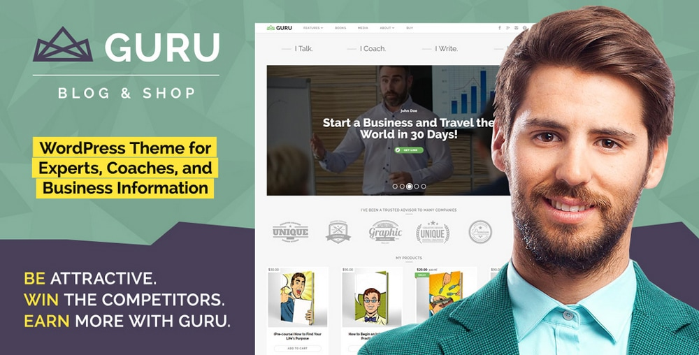 WordPress Theme Designed for Business