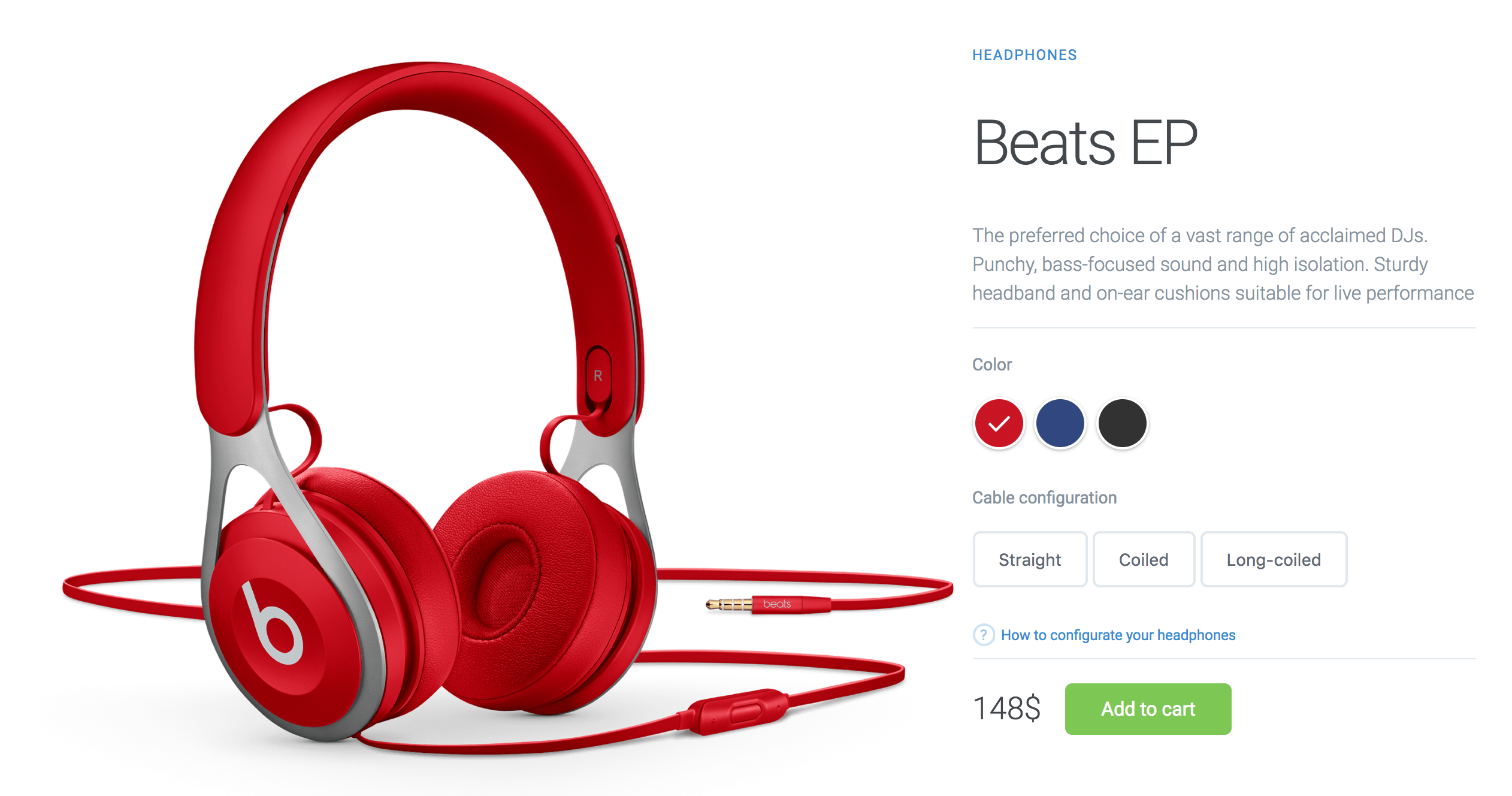 Create Product Page with Interactive Colors in HTML, CSS3 & jQuery
