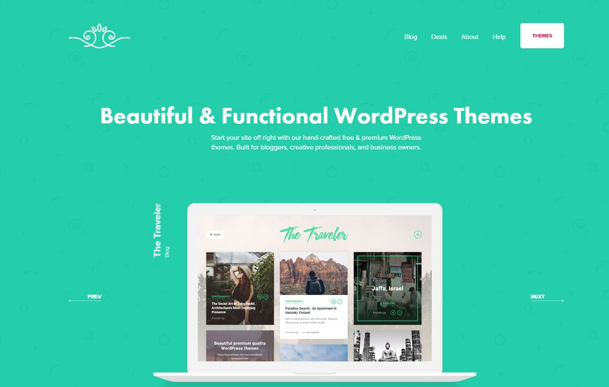 MeridianThemes- WordPress theme