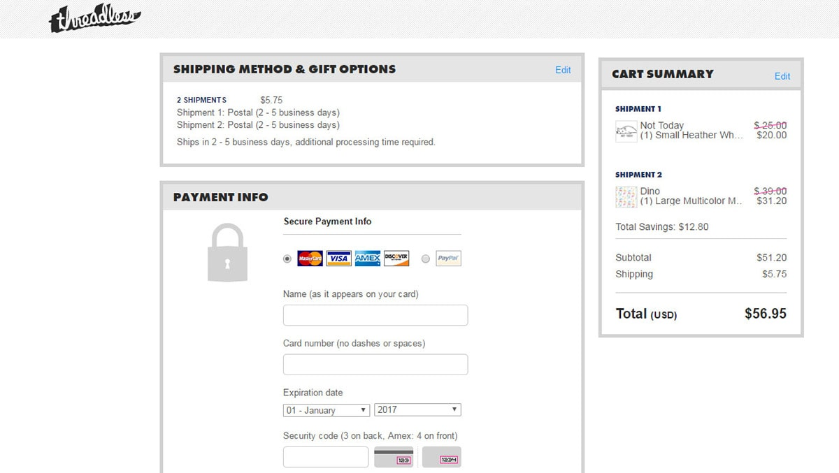 Billing Forms UX